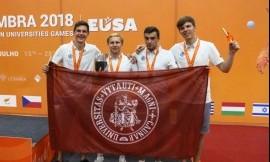 Antroji diena EUSA žaidynėse padovanojo pirmąjį medalį Lietuvos delegacijai