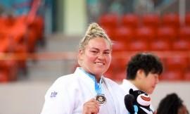 Dziudo imtyninkei Santai Pakenytei - universiados sidabro medalis (nuotraukos)
