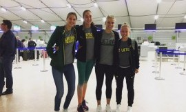 LSU krepšininkės išvyko į EUSA 3 x 3 krepšinio čempionatą