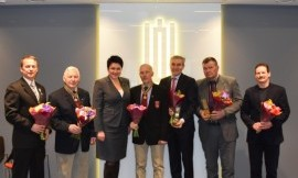 LTOK prezidentė D.Gudzinevičiūtė jubiliejų proga apdovanojo olimpiniam sąjūdžiui nusipelniusius žmones