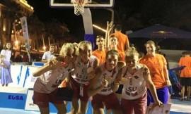 LSU merginos – Europos krepšinio 3x3 vicečempionės