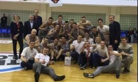 LSKL II vaikinų grupės čempionai – VU studentai!